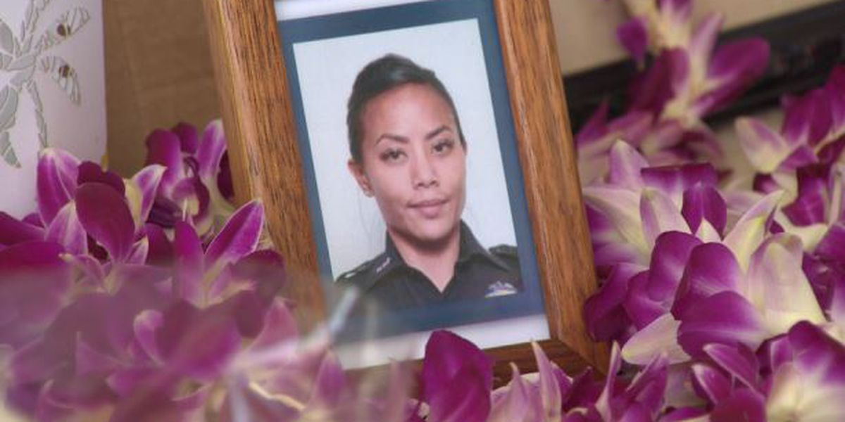 Officer Tiffany Enriquez remembered: 'She will always be my hero'