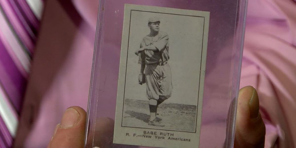 Collector finds rare 1921 Babe Ruth baseball card, buys for $2