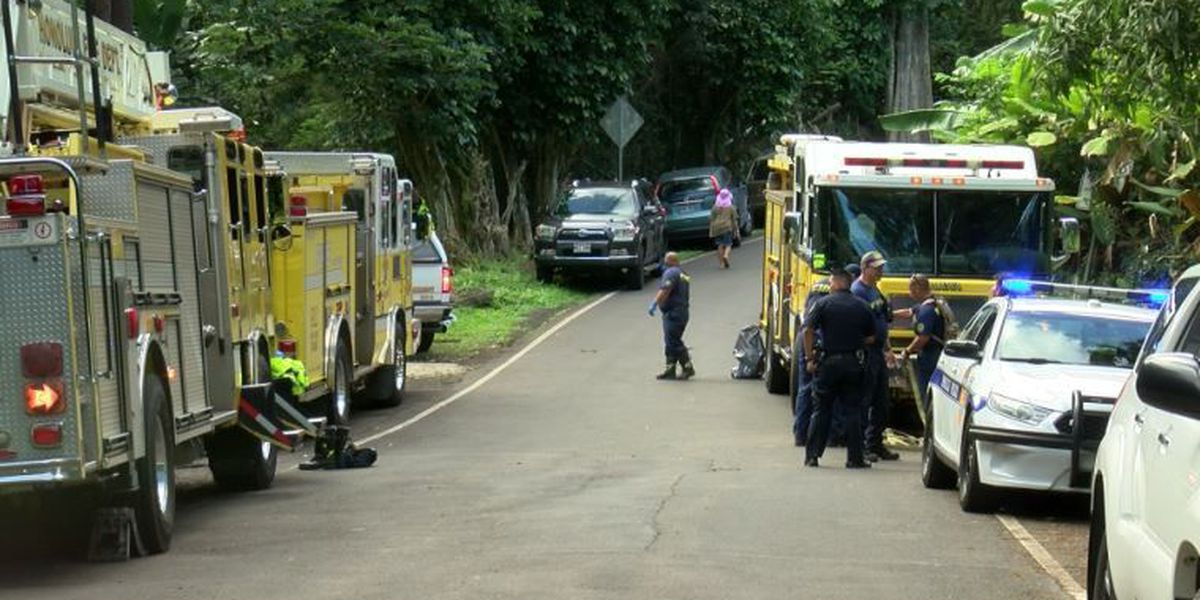 Body of a man found near boulder in Kaneohe