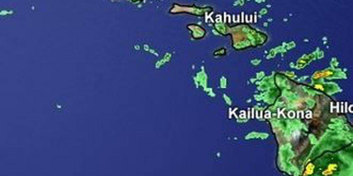 Flash Flood Watch for Maui County, Big Island canceled