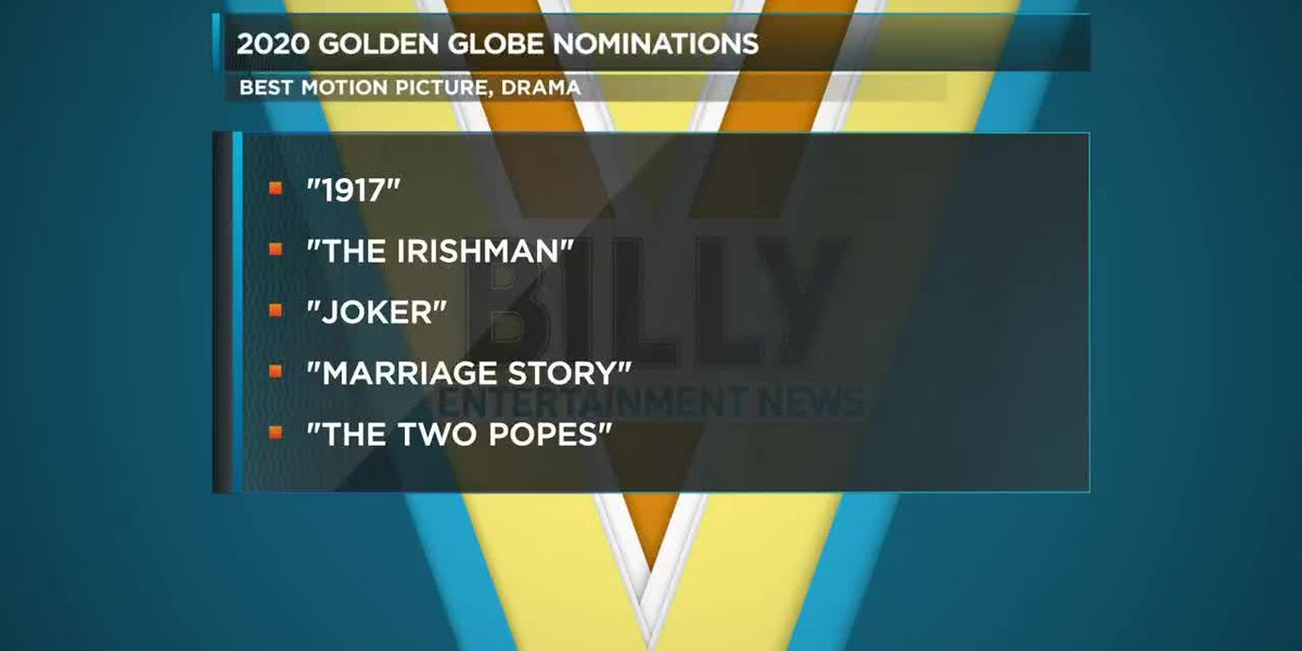 2020 Golden Globes Nominations Released