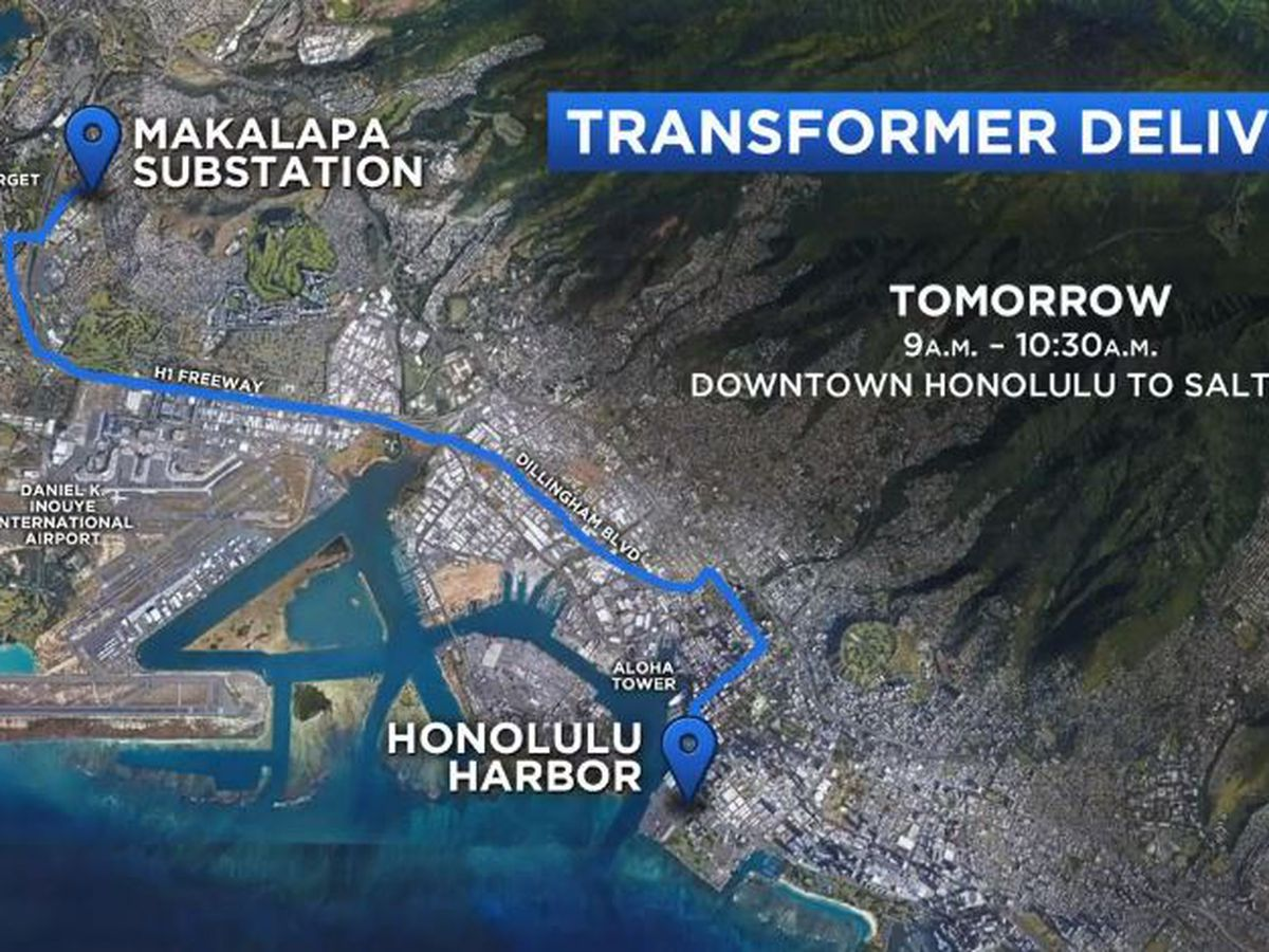 TRAFFIC: Delivery of a massive transformer to slow drivers in town Wednesday