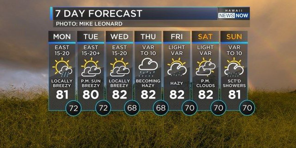 Forecast: Keep the umbrella close by this week