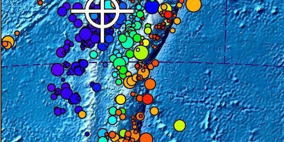 No tsunami threat to Hawaii after 6.5 quake off Fiji
