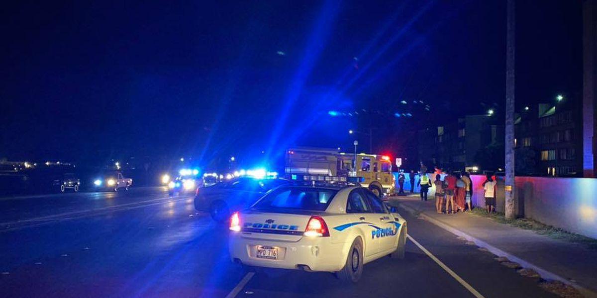 Pedestrian dies after crash on Maui overnight