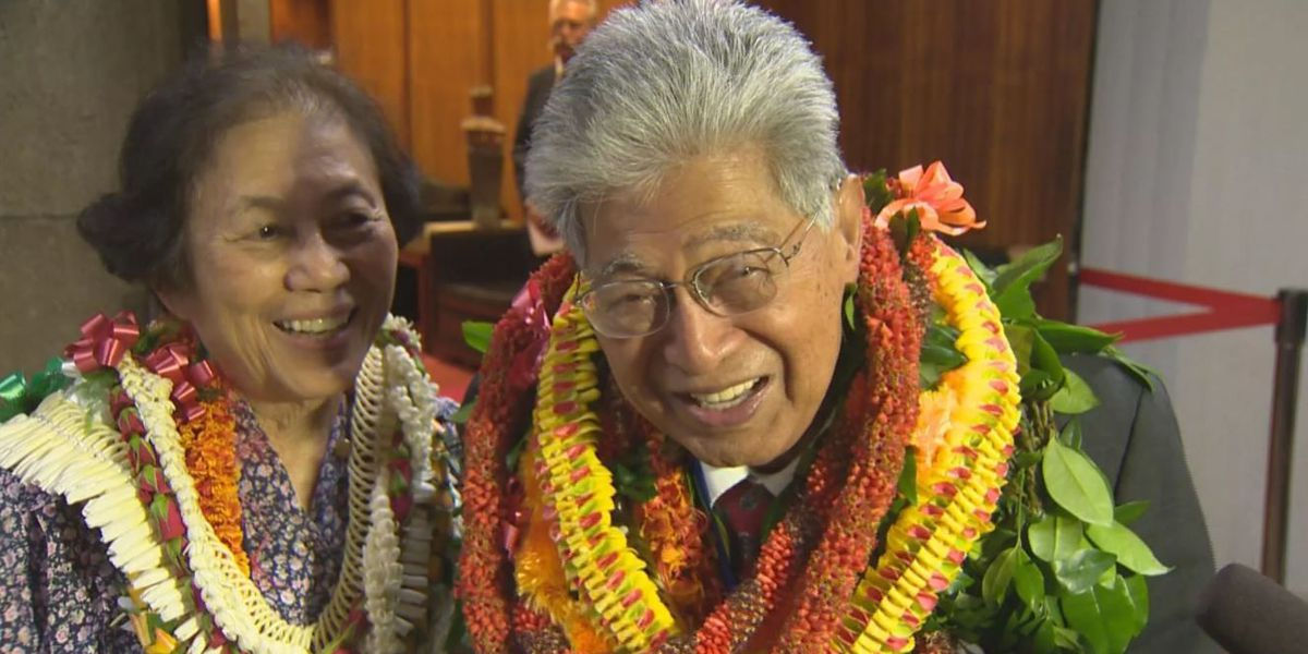 Akaka, the quiet statesman who believed in the power of aloha, dies at 93