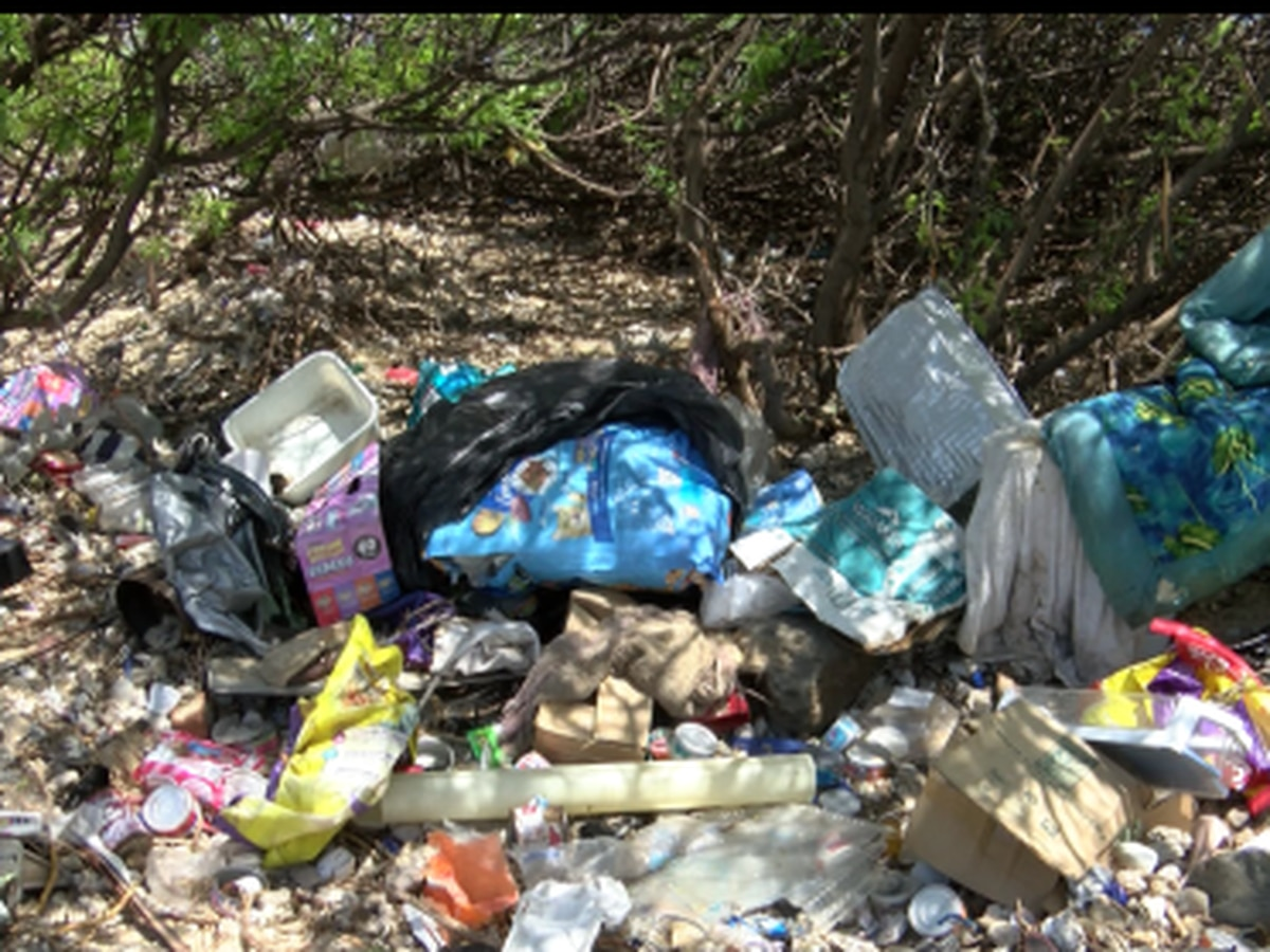 Illegal dumping plagues Sand Island State Recreational Area
