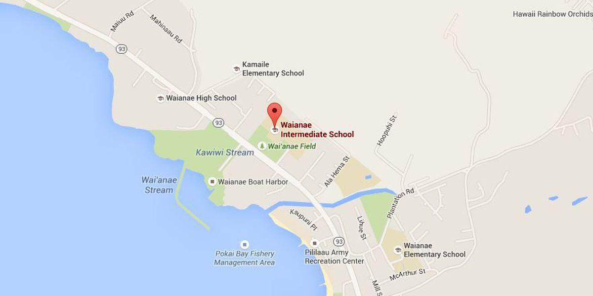 Lockdown lifted at Waianae Intermediate School