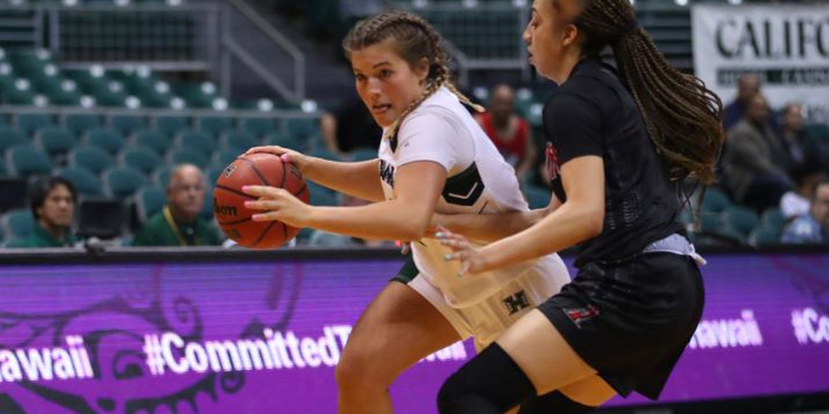 Wahine can't keep up with CSUN in 49-29 loss