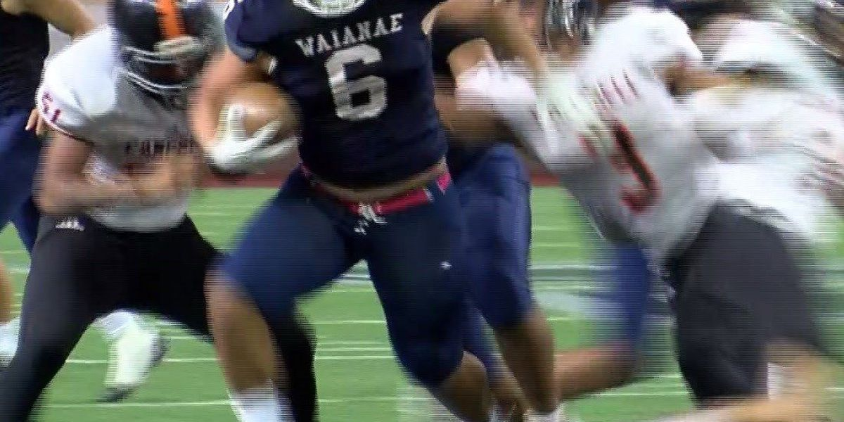 When duty calls, Waianae running back Rico Rosario doesn't think anyone can stop him