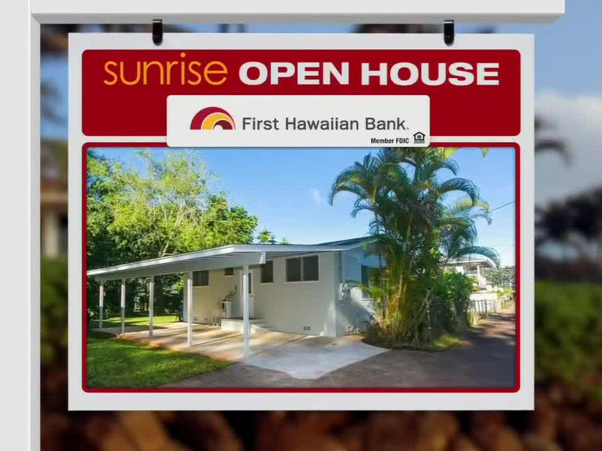 Sunrise Open House: Wahiawa
