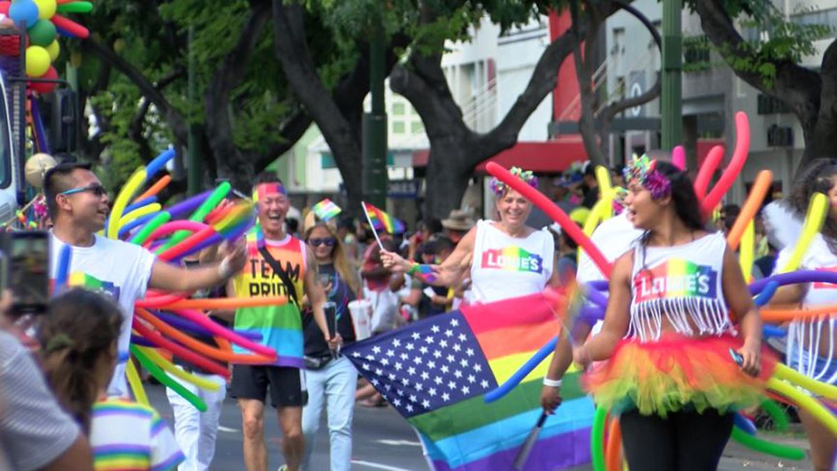 Honolulu's most colorful celebration of love, equality shows its pride in Waikiki