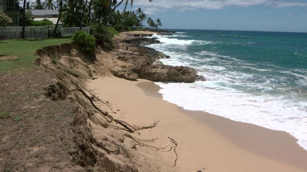 As sea levels rise, short-term fixes along Hawaii beaches might hasten erosion, study says