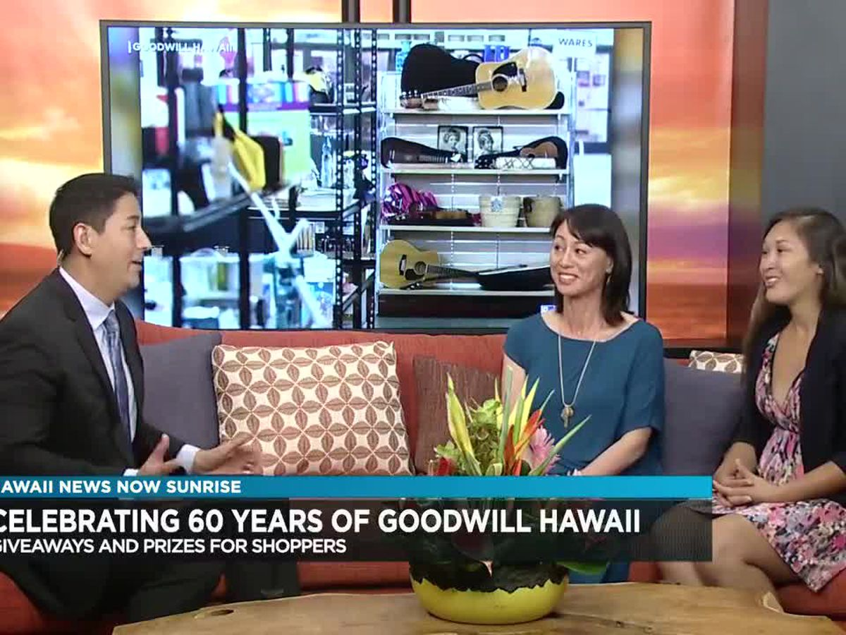 Fashion event celebrates 60th anniversary of Goodwill Hawaii