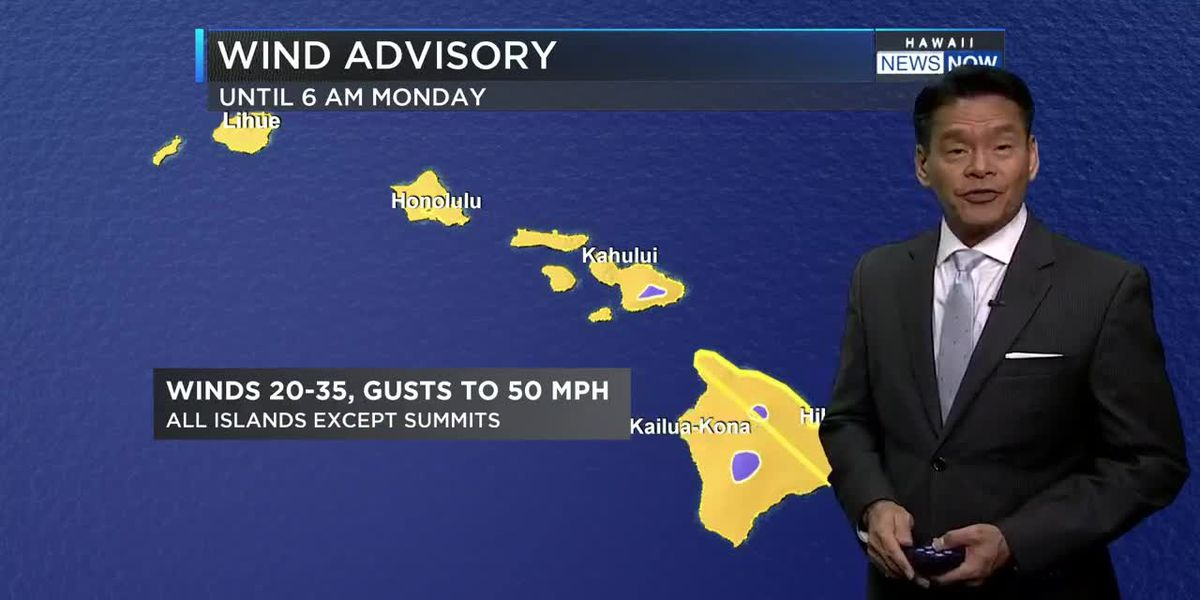Forecast: Wind, rain to start diminishing Monday