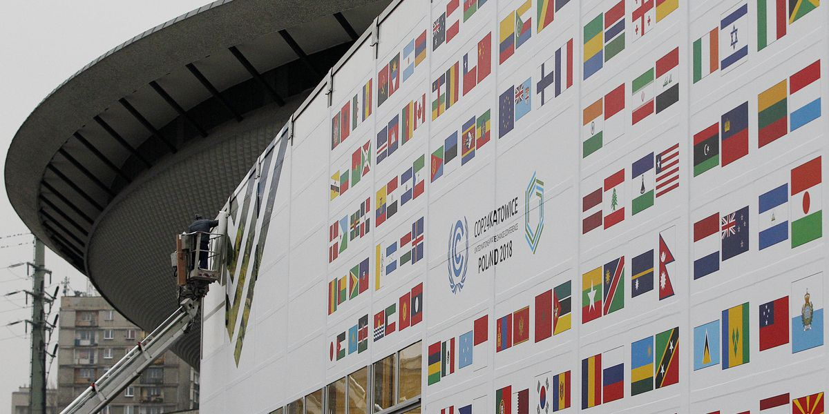 The Latest: Groups decry meat-heavy menu at climate talks