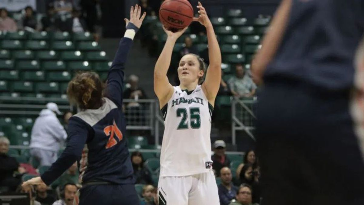 Records fall in Wahine's 79-72 win over Cal State Fullerton