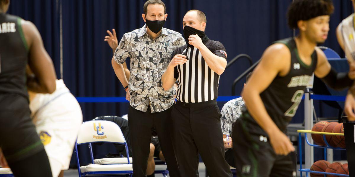 UH men's basketball get season finale split against UC Davis