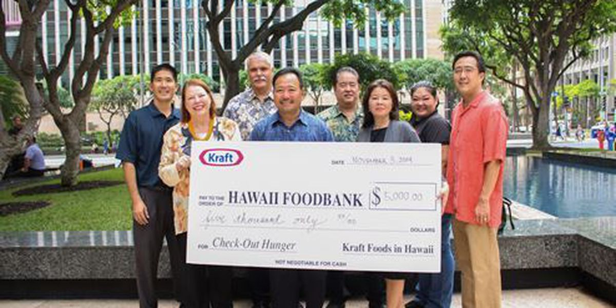 Hawaii Foodbank receives $6,000 grant to fight childhood hunger
