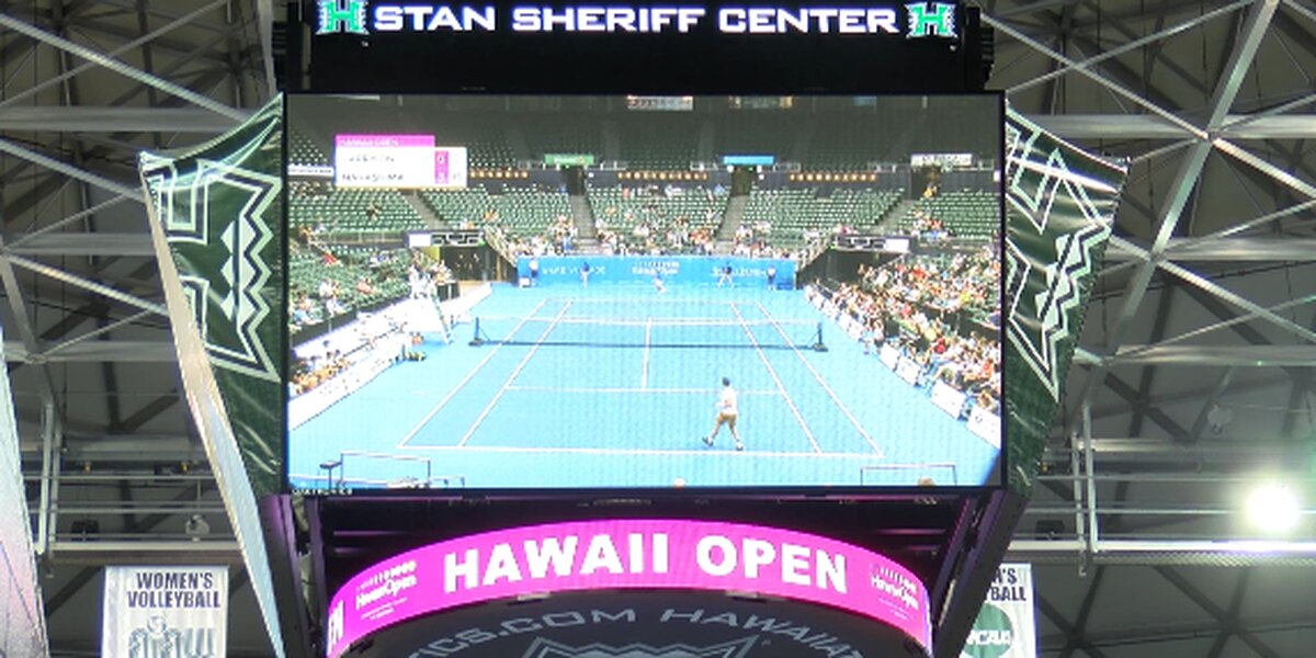 Tennis fans let down after stars back out of Hawaii Open