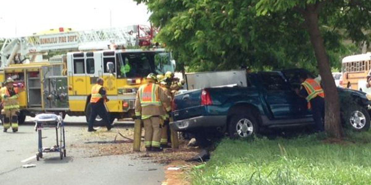 Kapolei Parkway reopened following fatal crash