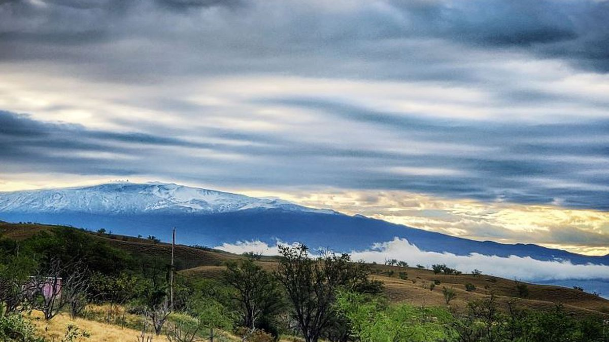 Let it snow! Winter storm drops snow on Haleakala, Big Island summits