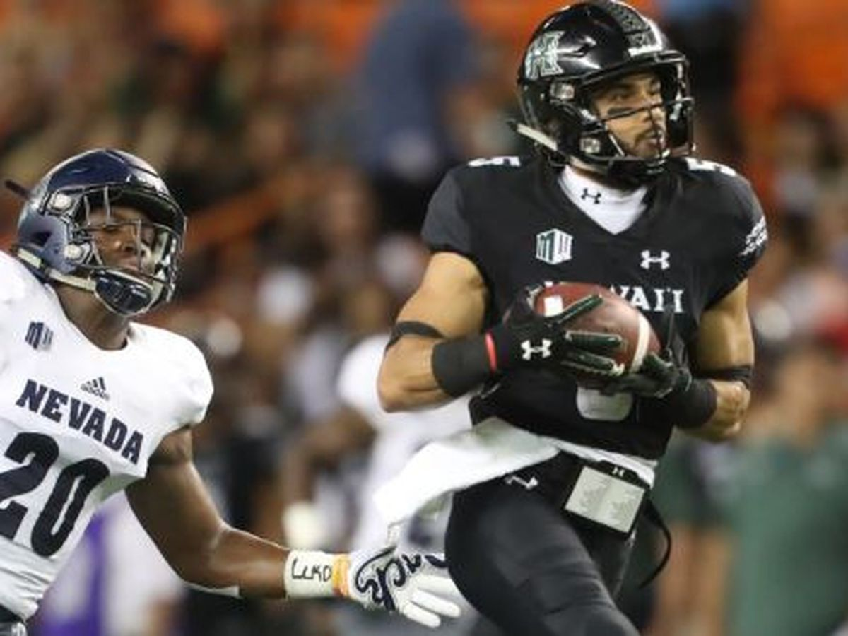 Nevada takes down Hawaii, 40-22