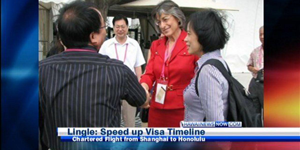 Lingle says Asia trip a success
