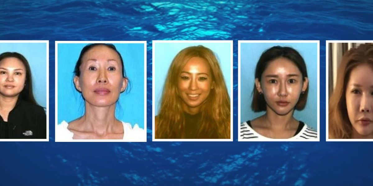 5 women wanted on suspicion of promoting prostitution in Honolulu