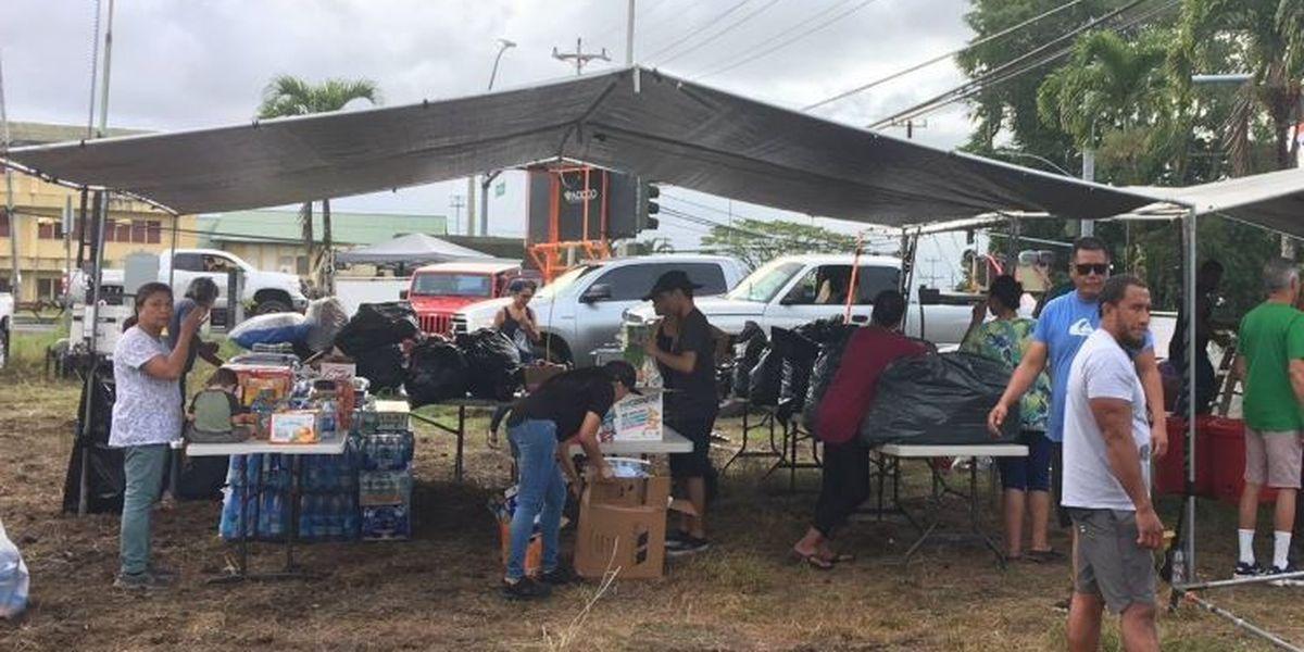 Community hub that helped eruption evacuees burglarized
