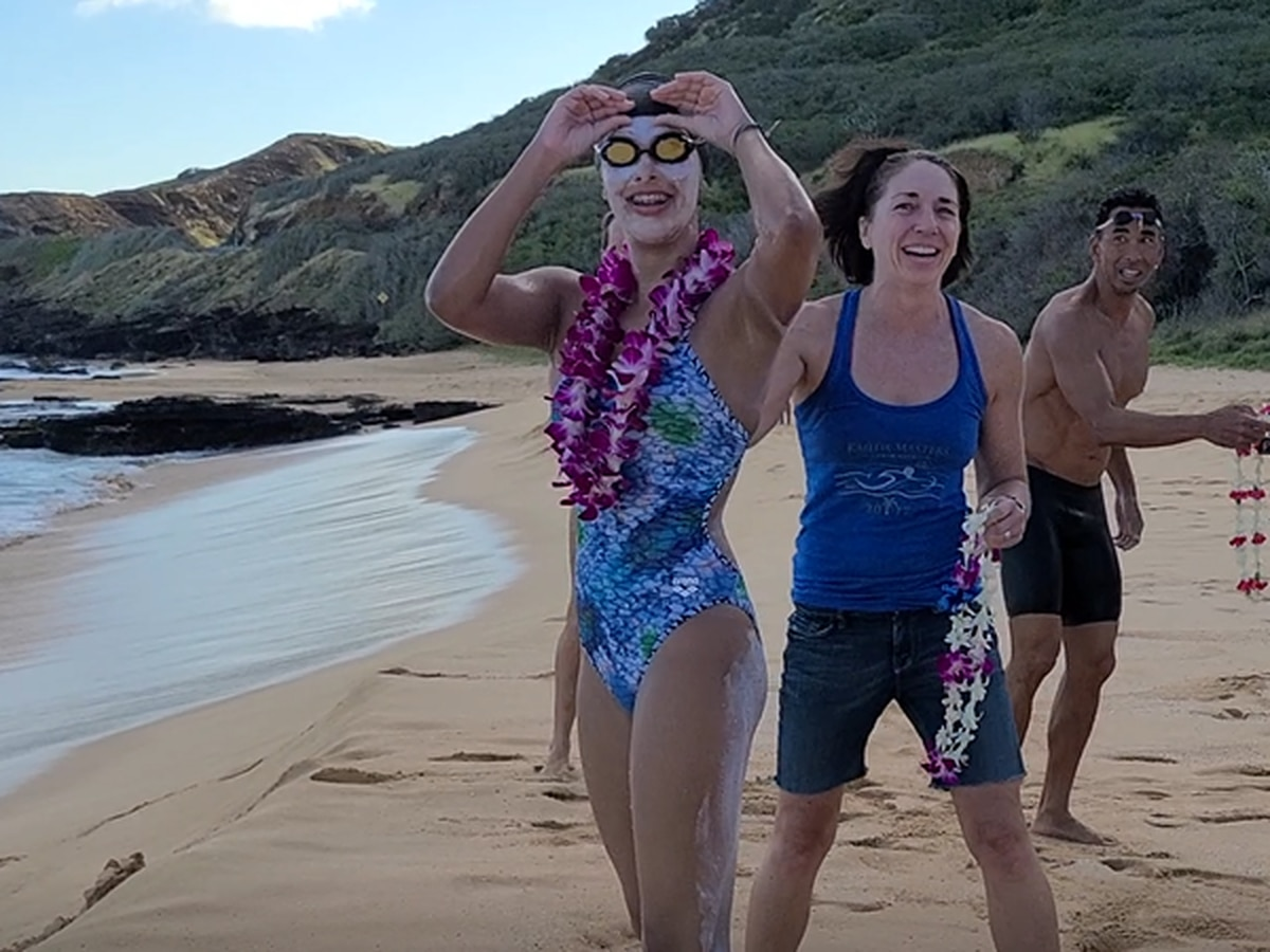 California teen becomes youngest person to swim across the Kaiwi Channel