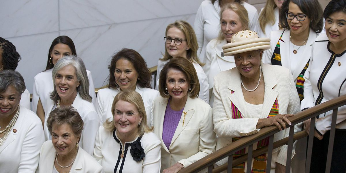 Here's why Democratic women wore white to the State of the Union