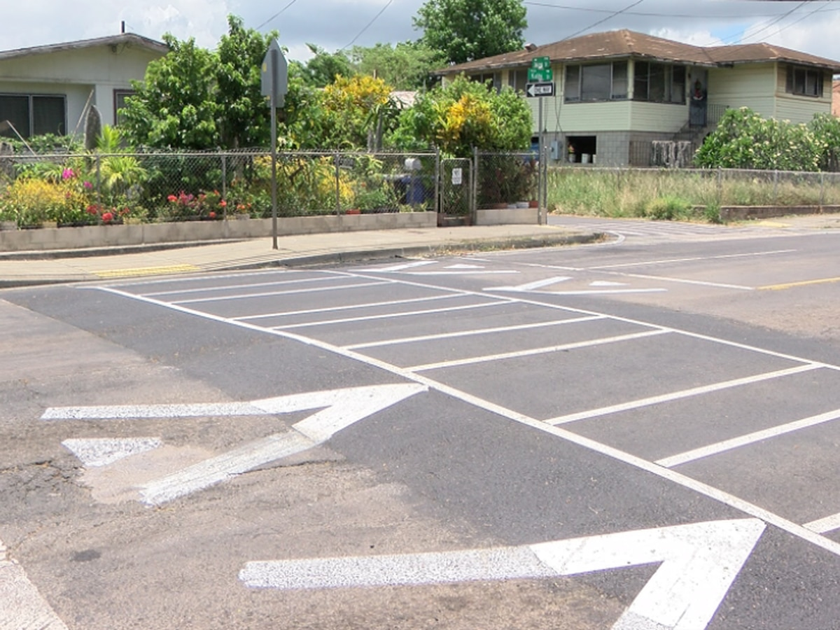 New raised crosswalk slows down traffic in Kalihi and more are on the way