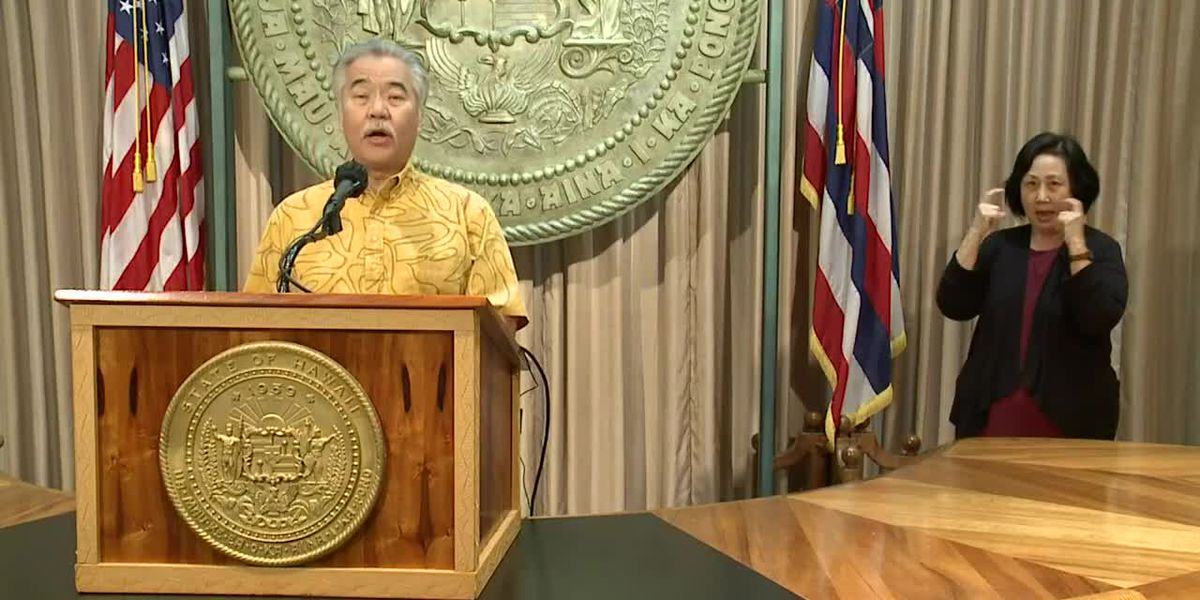 Governor keeps Hawaii's mask mandate in place despite new CDC guidance