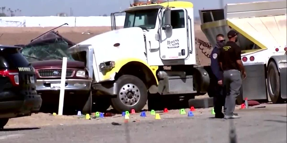 Border Patrol investigating crash that killed 13 as likely case of human smuggling