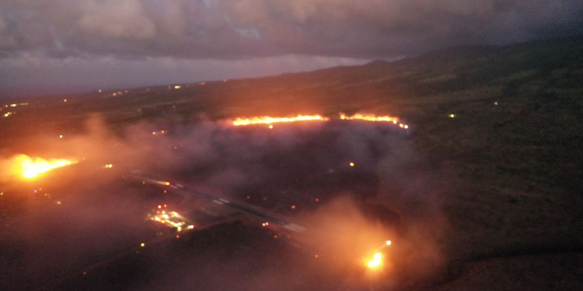 Shelters open for Maui residents forced to evacuate due to growing brush fire