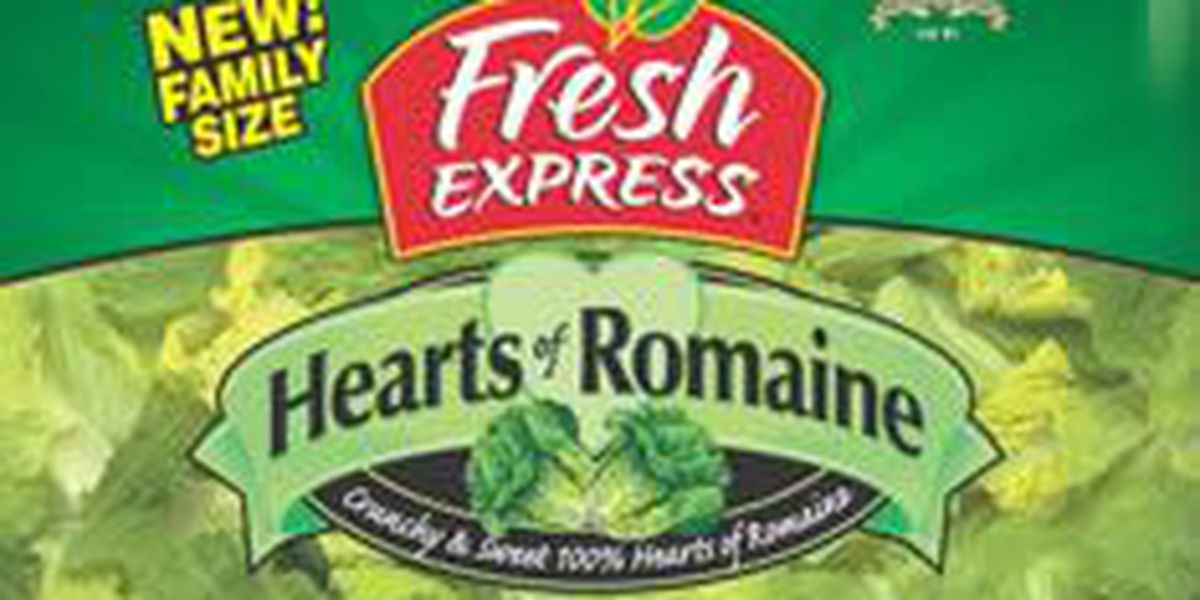 Fresh Express romaine lettuce products recalled due to possible e-coli