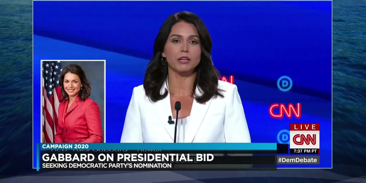 Tulsi Gabbard, on why she's staying in the run for president and not Congress