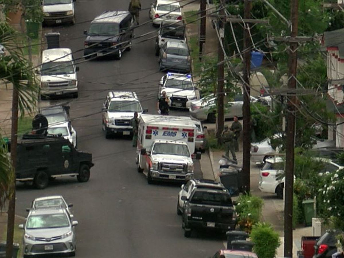 Charges pending for man behind Salt Lake barricade
