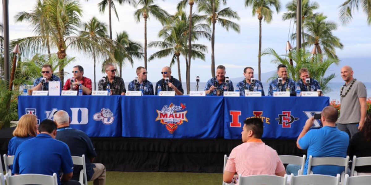 Previewing the 2018 Maui Invitational