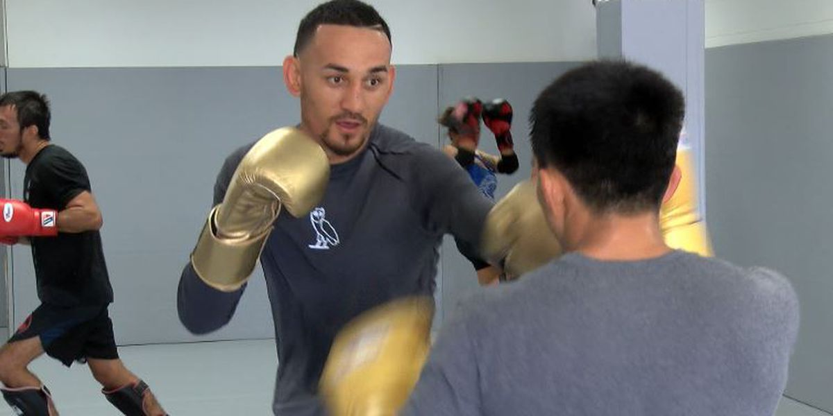 'I can't wait': Holloway makes final preps ahead of UFC 245