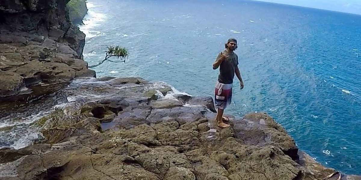 Family mourns adventurer who died while climbing Maui waterfall