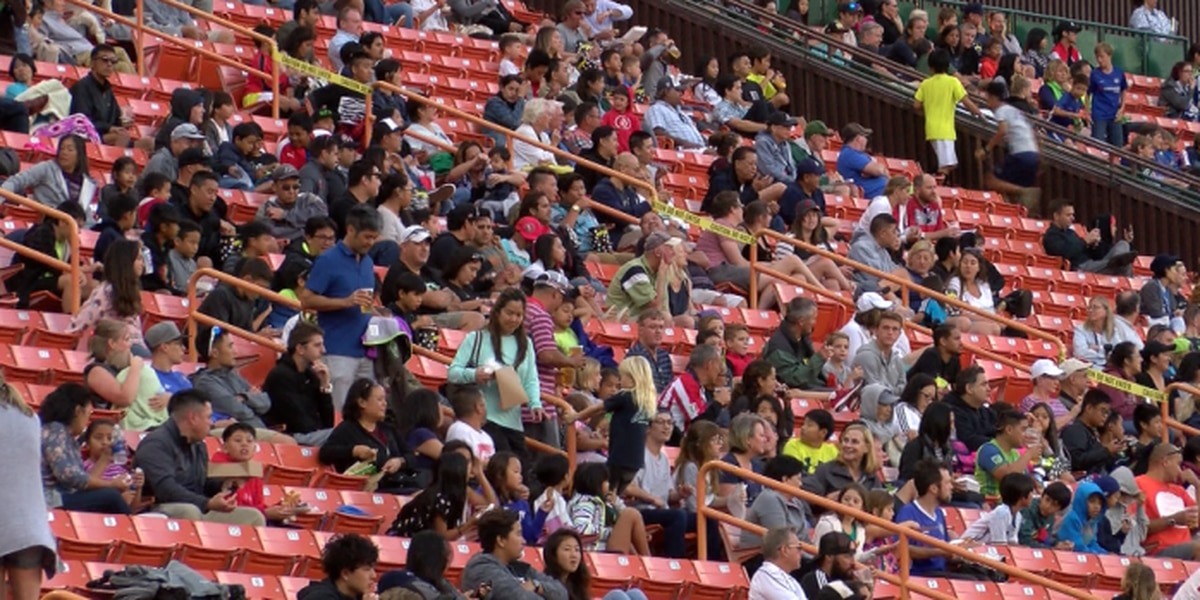 Thousands turn out for inaugural Pacific Rim Cup at Aloha Stadium