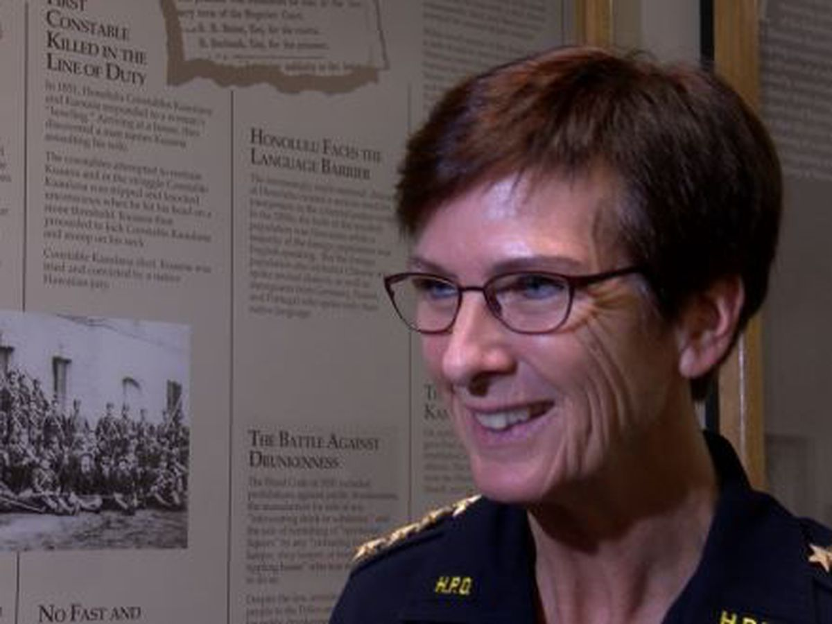 Honolulu's police chief gets good marks on first evaluation