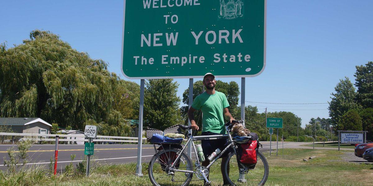 A Big Island man's 'minimalist maps' speak volumes about US landmarks