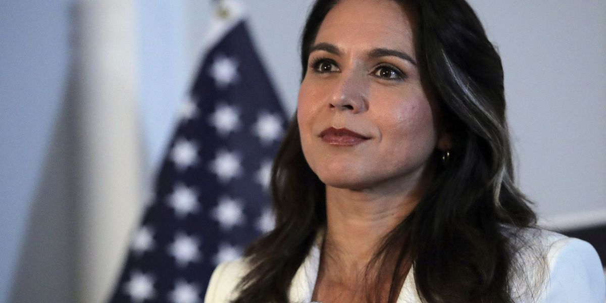 Trump defends Gabbard in Clinton spat, says 'she's not a Russian agent'