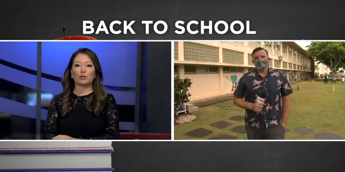 Private schools in Hawaii begin reopening with new safety protocols