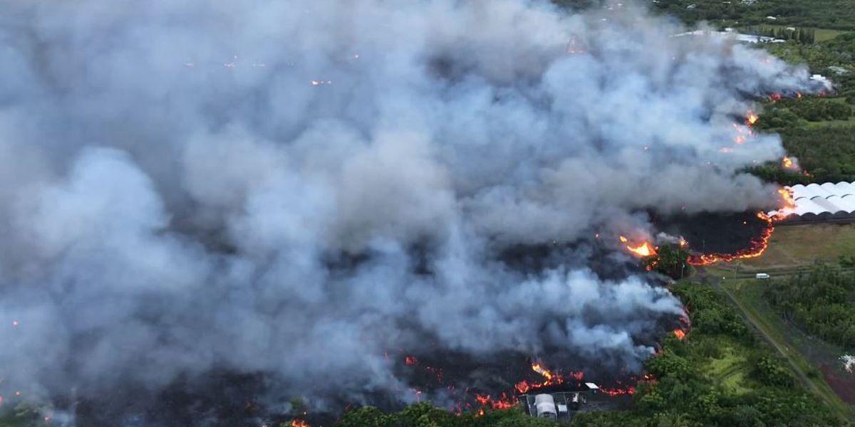 Lava enters ocean in Kapoho, raising more concerns about 'laze'