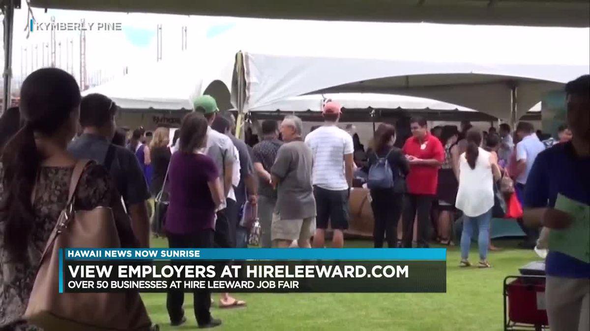 Annual Leeward Job and Career Fair to kick off at UH West Oahu