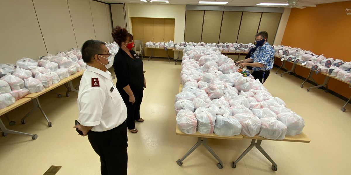Salvation Army center shifts operations to help vulnerable during pandemic